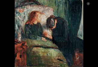 Niña enferma de Edvard Munch