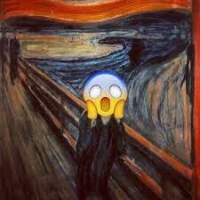 el grito edvard munch grito emoji