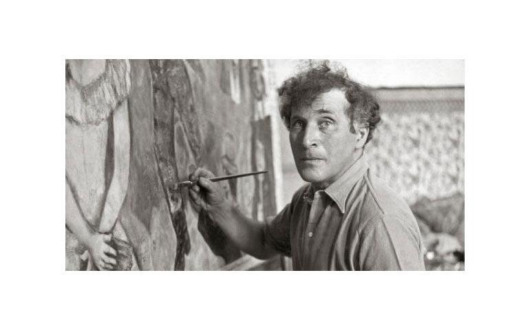 marc-chagall-retrato-pintando