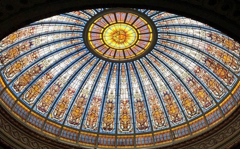 La cúpula del Círculo Militar, uno de los desafíos más emocionantes en la carrera de María Paula.